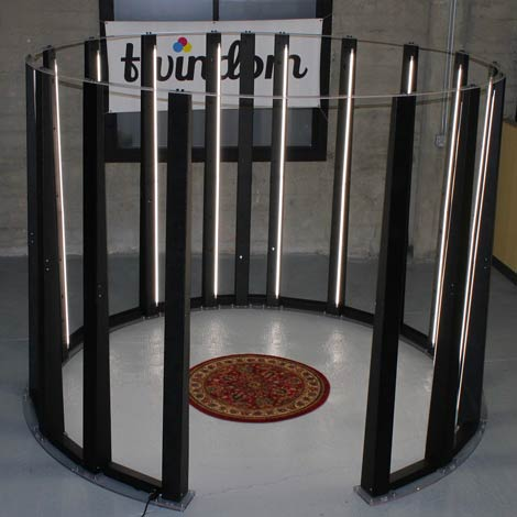 3D body scanner, 3D scanning booth.