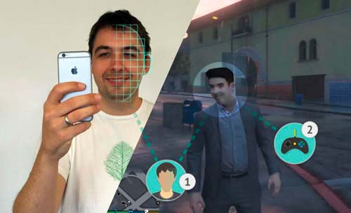 3D body scanning to make realistic avatars.