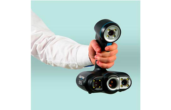 The Go!SCAN 50 handheld 3D scanner.