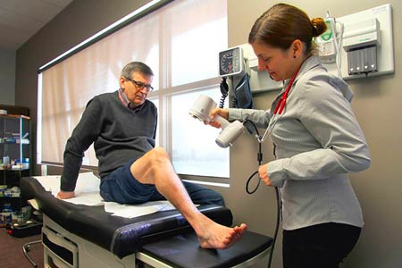 3D handheld body scanners for the medical industry.