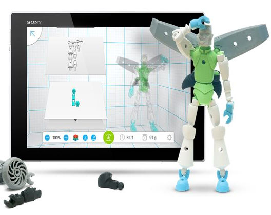 3D printing toys: A 3D modelisation of a toy with the Tinkerplay 3D.