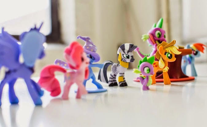 My Little Pony figurines could be customized using 3D printing technology.