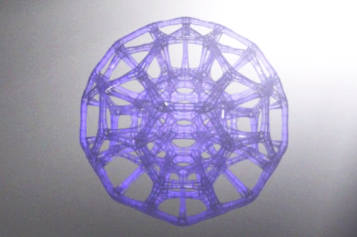 50 mm diameter hollow sphere 3D printed by Carbon3D at super speed with CLIP technology. Image credit: Carbon3D.