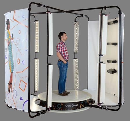 Shapify Booth Artec 3D - Body scanning