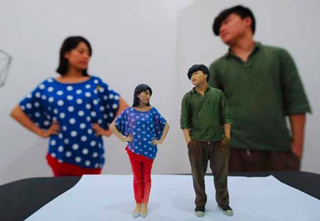 3D printed figurines: 3D portraits, 3D figurines and 3D selfies