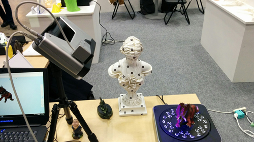 3D scan on tripod with the EinScan-Pro