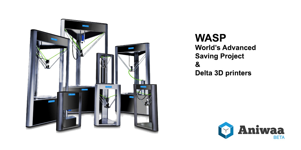 WASP's mission extends beyond the famous WASP delta 3D printers