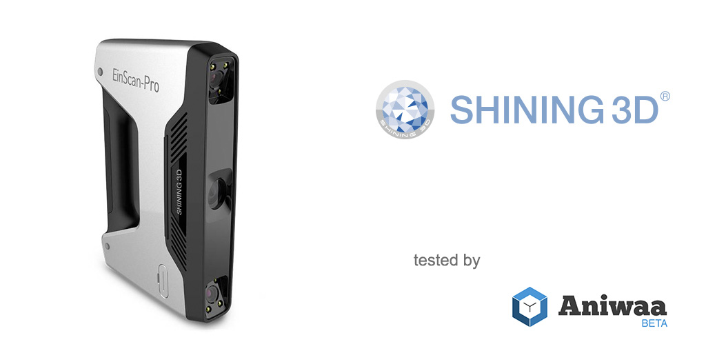 [Hands-on] The Shining 3D EinScan-Pro, an affordable and powerful portable 3D scanner