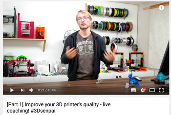 Best 3D printing YouTube channels; Thomas Salander a german Youtuber presenting us very useful tips.