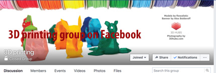Best of forums and communities. Facebook 3D printing group.