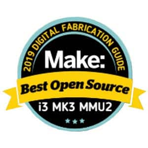 Makezine best open source 3D printer Prusa Research Original Prusa i3 MK3
