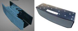 EinScan-SP test 3D scan: Bluetooth speaker