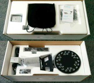 The Shining 3D EinScan-SP packaging.