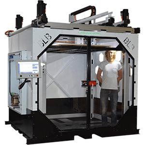 THE BOX Large by BLB Industries is an XXL 3D printer.