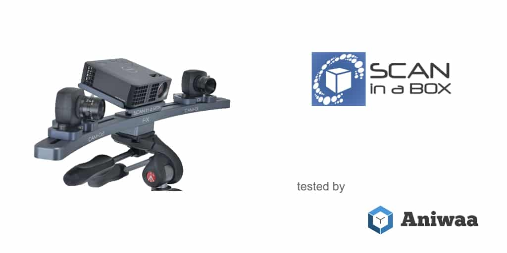 [Hands-on] The Open Technologies Scan In a Box - FX, a desktop 3D scanner