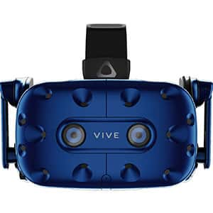The HTC VIVE Pro is one of the best PC VR headsets.
