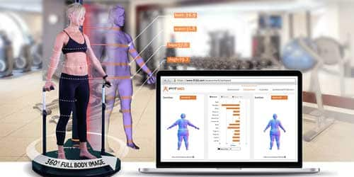3D body scanning, full body scanning and human body 3D scanners