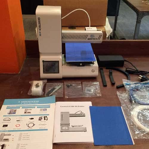 Geeetech E180 review: a desktop 3D printer for beginners