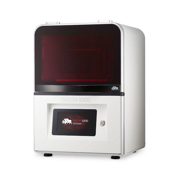 Tethon 3D Bison 1000 resin ceramic 3d printer