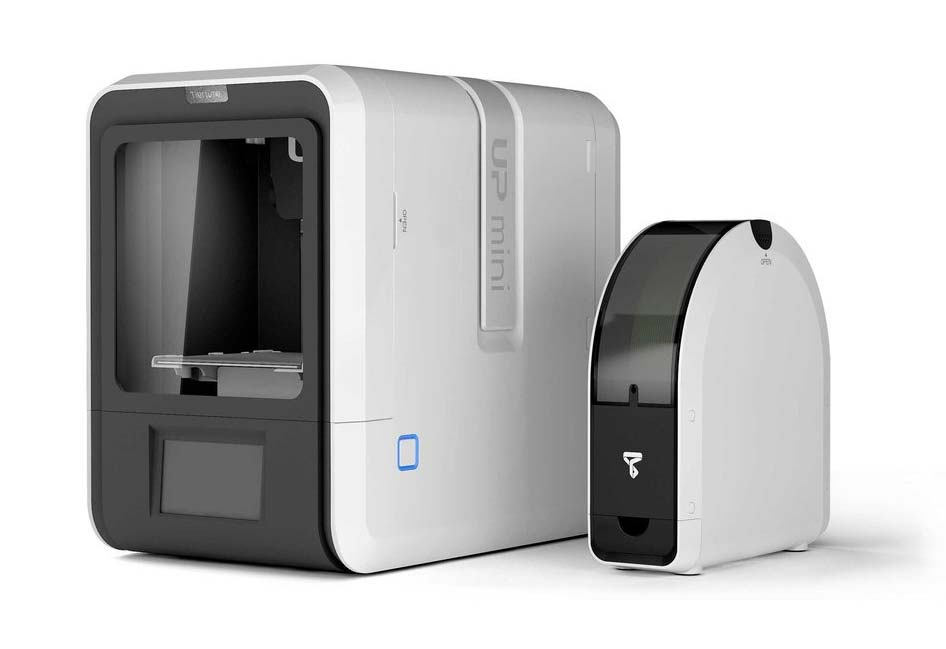 The Tiertime UP mini 2 ES is an affordable desktop 3D printer.