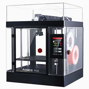 The Raise3D Pro2 is a professional 3D printer.