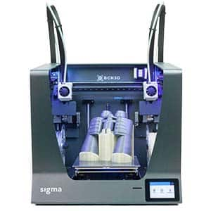 The BCN3D Sigma R19 is an IDEX 3D printer for professionals.