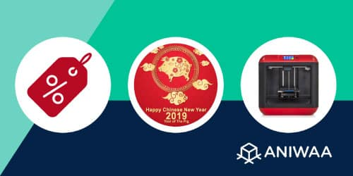 Chinese New Year 2019 sales: 3D printers deals