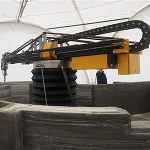 Apis Cor 3D concrete printer