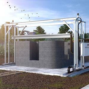 ICON Vulcan II house 3D printer