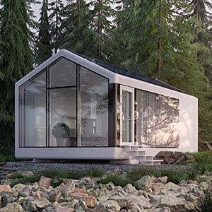 Haus.me fully autonomous house 3D printed