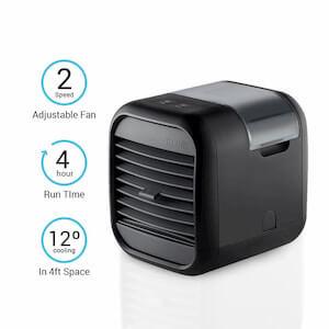 HoMedics desktop air conditioner mini