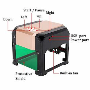 MYSWEETY mini laser engraver machine