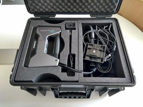 Shining 3D EinScan Pro 2X Plus review hardcase and packaging