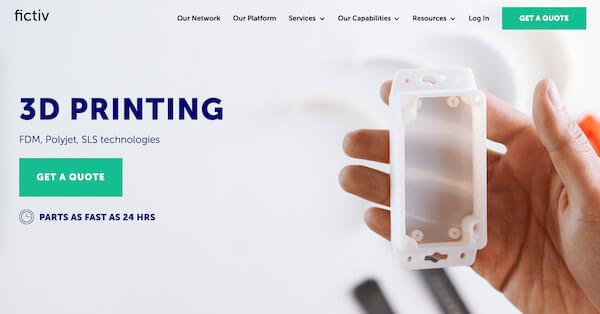 Fictiv digital manufacturing platform
