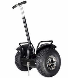 Off-road segway