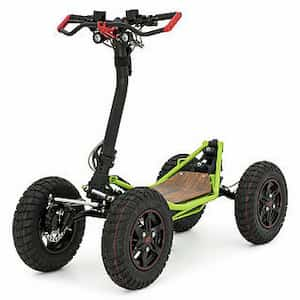 EZRaider HD4 4 wheel off-road electric scooter