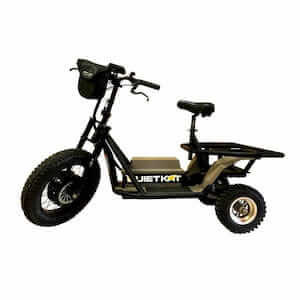 QuietKat Prowler off-road electric scooter for hunting