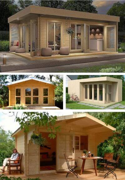 Allwood prefab guest house and granny flats