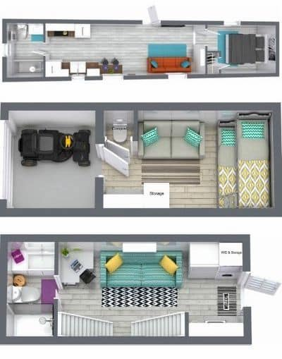 Custom Container Living prefab container home