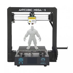 ANYCUBIC Mega-S 3D printer under 300 dollars