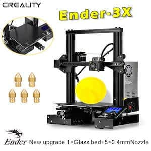 The Creality Ender 3X is one of the best cheap 3D printers under $300.