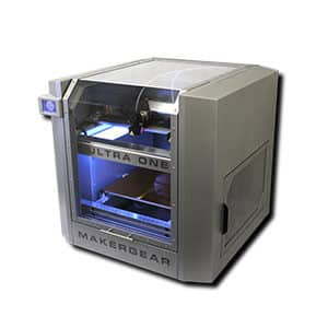 MakerGear Ultra One industrial grade desktop 3D printer large volume