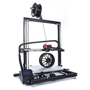 gCreate gMax 2 best large volume 3D printers