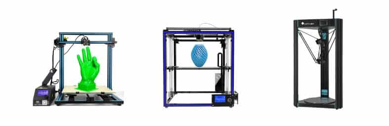 3D printer types Cartesian Delta CoreXY