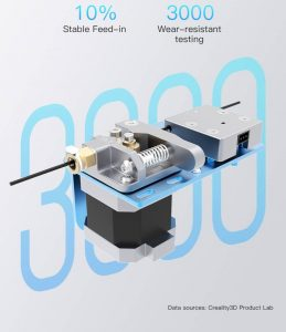 Creality CR10-V2 extruder