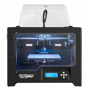 FlashForge Creator Pro best 3D printer for beginners under 1000