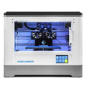 FlashForge Dreamer top 3D printers under 1000