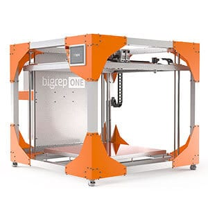 BigRep ONE V3 3D printer XXL build volume
