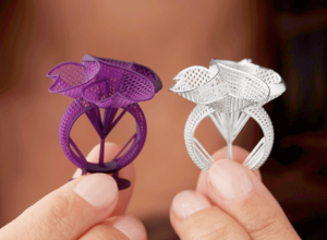 3D printed jewelry casting Formlabs
