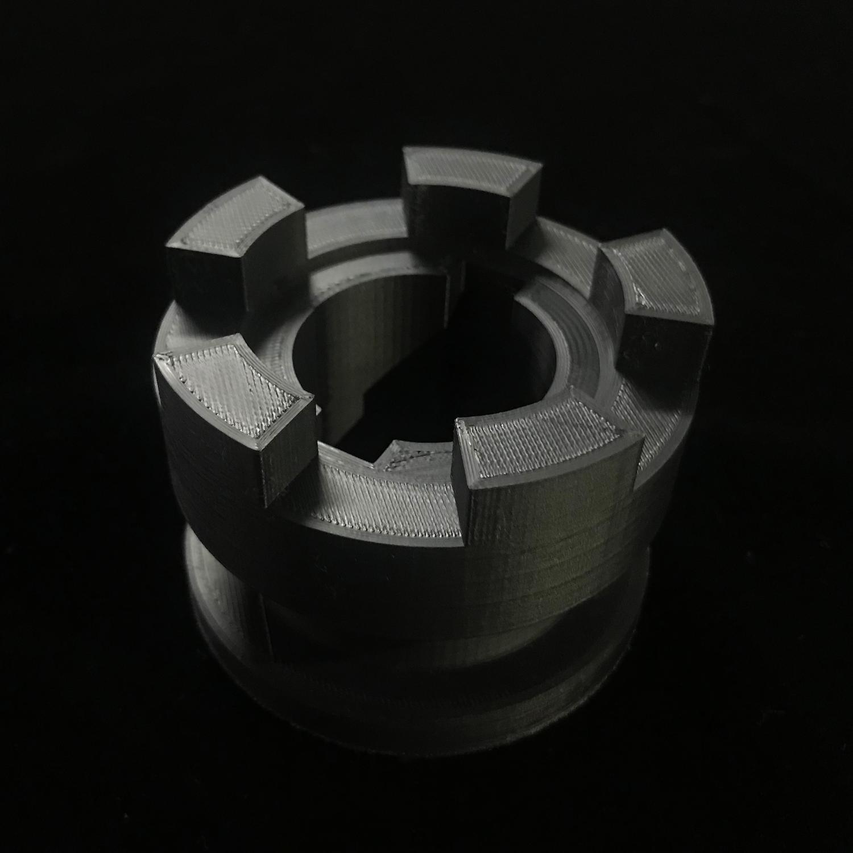 ASA part printed with the FlashForge Creator3